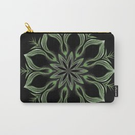 Alien Mandala Swirl Carry-All Pouch