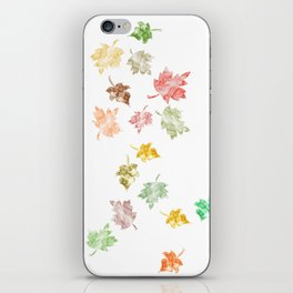 Welcome Fall iPhone Skin