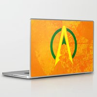 aquaman Laptop & iPad Skins featuring Aquaman by Some_Designs