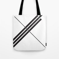depeche mode Tote Bags featuring Mode by Alexander Studios