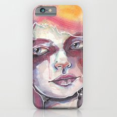 Deep space watercolor Slim Case iPhone 6s