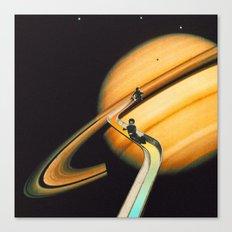 Saturn escape Canvas Print
