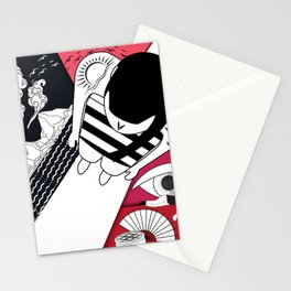 Day And Night, Night And Day Stationery Cards