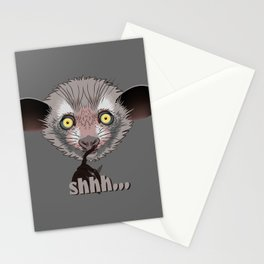 Aye-Aye Lemur Stationery Cards