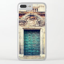 Trapani art 22 Sicily Clear iPhone Case