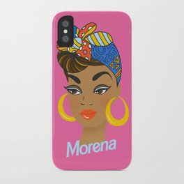 Morena Doll iPhone Case