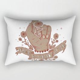 Black Eyed Susan Band art Rectangular Pillow
