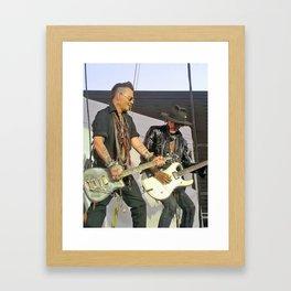 Johnny Depp Joe Perry Hollywood Vampires Framed Art Print