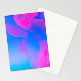 Pink Moon Glow Stationery Cards