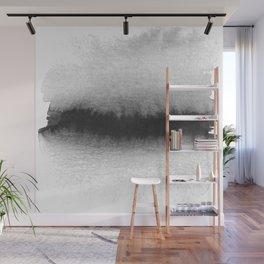 Black and White Horizon Wall Mural