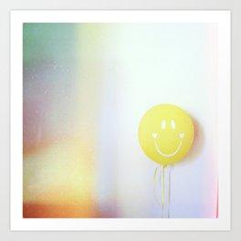 yellow ballon Art Print