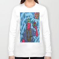 odd future Long Sleeve T-shirts featuring ODD FUTURE by TheArtGoon