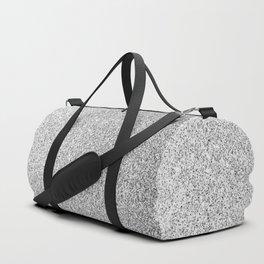 Beautiful Silver glitter sparkles Duffle Bag