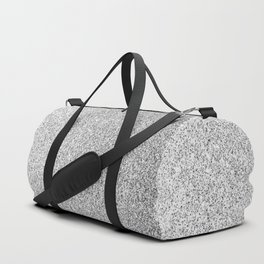 Beautiful Silver glitter sparkles Duffle Bag