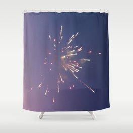 fire.cracker Shower Curtain