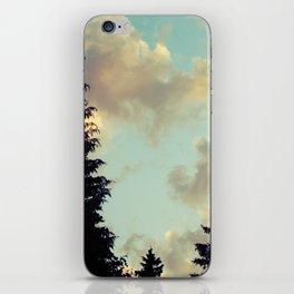 Cloud Conversations iPhone Skin