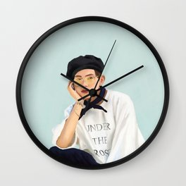 Beachboy Taehyung Wall Clock