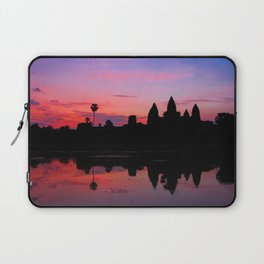 Angkor Wat Sunrise Reflection Laptop Sleeve