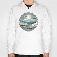 ocean Hoodies featuring Ocean Meets Sky - colour option by Terry Fan