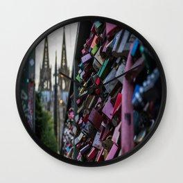 Lovelocks and Cathedral Wall Clock