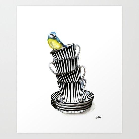 """Zebra"" Art Print"