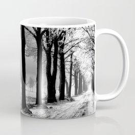 Winter Landscape (Winter Trees, Setting Sun) Coffee Mug