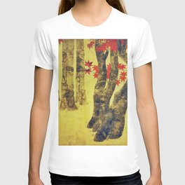 Anata In Red and Gold T-shirt