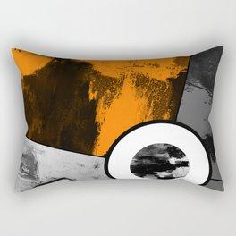 Metallic Scope - Abstract, geometric, metallic cross hair scope design Rectangular Pillow
