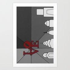 LoveGrey Art Print