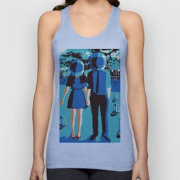 Outer Space Unisex Tank Top
