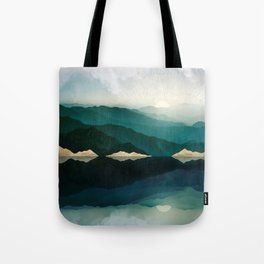 Waters Edge Reflection Tote Bag