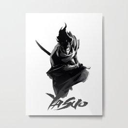 Yasuo Metal Print
