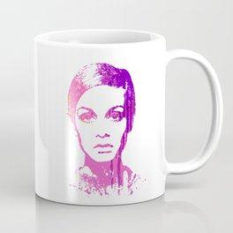 60S ICON / TWIGGY Coffee Mug