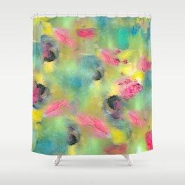 Spring Garden - Painting Shower Curtain