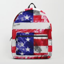 American Flag Extrude Backpack