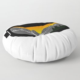 Sunset Goggles 2 | Goggle Designs | DopeyArt Floor Pillow