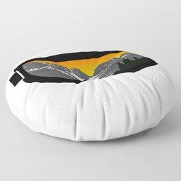 Sunset Goggles 2 | Goggle Designs | DopeyArt Floor Pillow