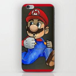 Super Mario iPhone Skin