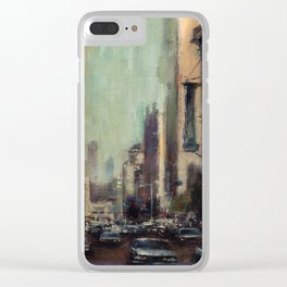 Life's Just a Cocktail Party on the Street Clear iPhone Case