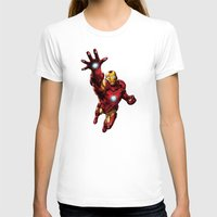ironman T-shirts featuring IRONMAN by Yuliya L