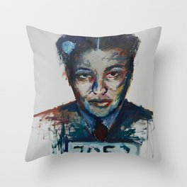 Rosa Parks Throw Pillow