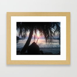 KP Sunset #2 Framed Art Print