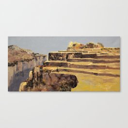 fields in the gold Canvas Print