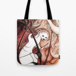 Ermine and Erhu Tote Bag