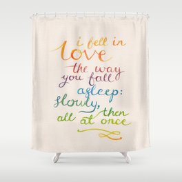 All At Once Shower Curtain