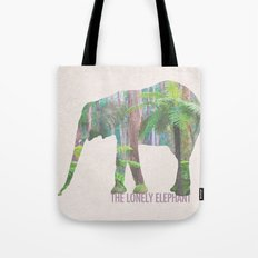 The Lonely Elephant Tote Bag