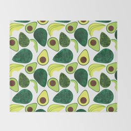 Avocados Throw Blanket