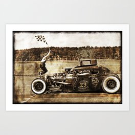 The Pixeleye - Special Edition Hot Rod Series I  Art Print