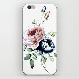 Vintage Rose 5 iPhone Skin