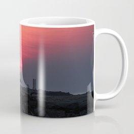 Cloudy sunrise at the Miramar beach. Coffee Mug